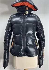 JC de Castelbajac for Rossignol Black Down Puffer Ski Jacket Women's Small