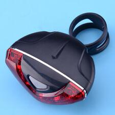 Red 5 LED Back Cycling Bicycle Bike Rear Tail Light Lamp Safety Flashing Warning