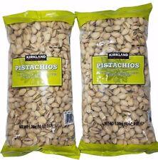 6 LB/ 98 oz (2 x 3LBs)  Kirkland California Pistachios Roasted & Salted.