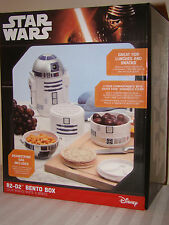 Star Wars R2D2 Bento Box Lunch Box With Carry Bag Pouch R2-D2 Thinkgeek Disney