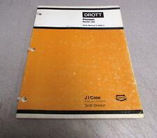 Case 300 Poclain Parts Catalog Manual S406311