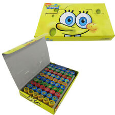 60pc SpongeBob SquarePants Self Inking Stamp Set Kid School Supplies Party Favor