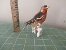 Goebel vintage bird on a branch figurine