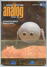ANALOG Science Fiction Magazine 1973 10 Issue Lot