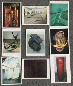 LOT OF 9 POSTCARDS OF MODERN ART SCULPTURES