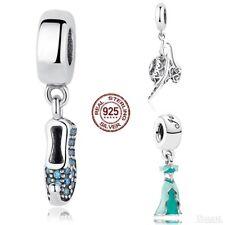 Aladdin Jasmine charm REAL 925 Sterling Silver Bracelet Bead Spacer Genie Lamp