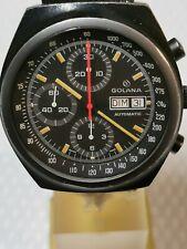Golana vintage Cronografo Valjoux 7750 Pvd