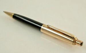 Seltener Mont Blanc Pix Mechanical Pencil No.672K, Gold/Black L.4 11/16in (K120)