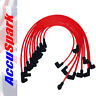 Ford 289 & 302 V8 Engine AccuSpark 8mm RED Carbon Core High Performance HT Leads