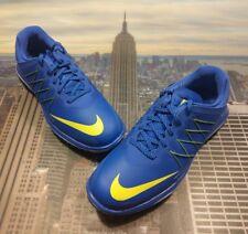 Nike Womens Lunar Control Vapor Golf Shoe Blue/Volt Size 6.5 849979 400 Wmns New