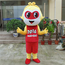 Sun Wukong Monkey Mascot Costume Suits Halloween Cosplay Party Game Dress Outfit