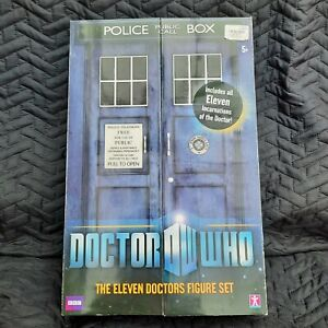 DOCTOR WHO figure set - Eleven Doctors Incarnation BOXED Very Good  Condition