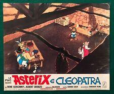 FOTOBUSTA  ASTERIX E CLEOPATRA  Astérix et Cléopâtre GOSCINNY UDERZO ANIMAZIONE