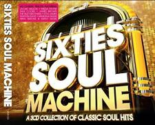 SIXTIES SOUL MACHINE Various Artists NEW & SEALED CLASSIC 60s SOUL 3x CD SET