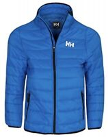 Helly Hansen Boys Quilted Jacket Coat Horten Puff Blue New !