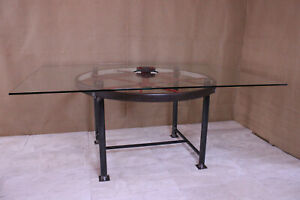 Upcycled Industrial Table