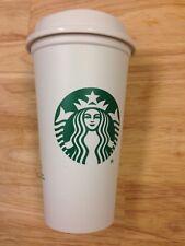 STARBUCKS Reusable Plastic Grande Coffee Tea To Go Cup