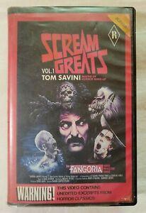 Scream Greats Vol. 1: Tom Savini VHS 1986 Horror Fangoria Mag ShowCase Video