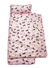 SoHo Nap Mat Pink Horses Nap Mat Best Buy! Super Sale! Perfect For Pre-Schooler
