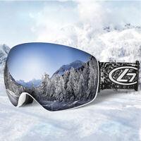 UV Protection Ski Goggles Glasses Double Lens Anti Fog UV400 Snowboard Goggles