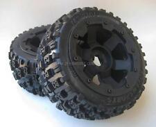 1/5th Baja Wheels & Tyres Set Off  Road BT Rear Bow fit HPI 5B SS PRC KM Rovan