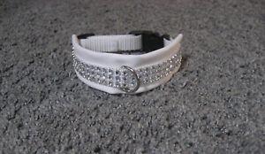 Umfang 24 - 27 cm  Hundehalsband Halsband Halsband Glitzer Hund Hundebekleidung