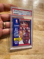 Michael Jordan PSA 6 Fleer All Star Collector Card INVEST Last Dance 1991 #211