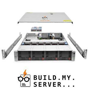 HP ProLiant DL380 G9 Server E5-2620v3 2.40Ghz 6-Core 16GB B140i Rails