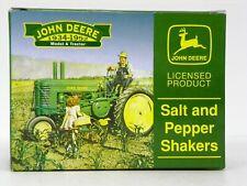"""""""John Deere Salt & Pepper Shakers"""" 1934-1952 - Model A Tractor Model Kit"""