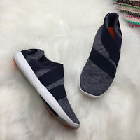 Under Armour Womens Street Precision Slip Sneaker US 6.5 Blue Metallic 1296214-4