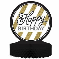 Gold Birthday Adult Table Decoration Party Decorations For