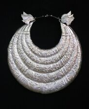 Tribe exotic decorative hanging chinese handmade miao silver necklace 1piece