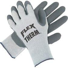 New Mens Sz Large Latex Palm FLEX Therm Thermal Knit Work Gloves MCR 9690L 1 Pr