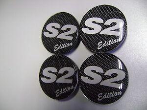 Set Nabenkappen für S2 Edition Alufelgen bestehend aus 4 Stück