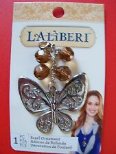 Laliberi scarf/purse pendant/ornament - Butterfly (3.25 inches long)