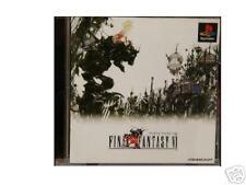 FINAL FANTASY VI 6 FFVI Playstation PS Import Japan FF6