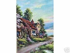 Neat Thatched Cottage in Summer by Thompson????