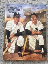 Beckett Baseball Card Monthly Magazine Joe DiMaggio Mickey Mantle June 1991 MINT