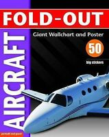 Fold-Out Poster Sticker Aircraft Paul Calver Paper 9781906572396