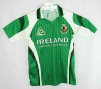 Ireland National Football Eireanm Green Official Embroidered Jersey Adult Small