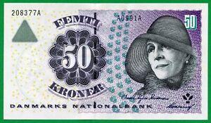 Denmark 50 Kroner, 2001, P-55, UNC