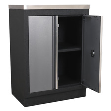 Sealey Modular 2 Door Floor Cabinet 680mm APMS52 1 Year Warranty High Quality