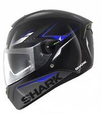 Casco SHARK SKWAL Moto matador Negro Azul Motocicleta Pinlock Sunvisor-S