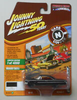 1963 Gloss Black Ford Galaxie 500 JOHNNY LIGHTNING DIE-CAST 1:64 50th