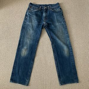 Levi's 505 Made In USA Redline Selvedge Cone Blue Denim Jeans 135 Years 32x34