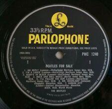 The Beatles LP Beatles for sale UK Parlophone Mono 1st Press -3N -3N )))