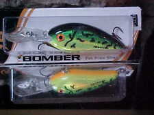 Bomber Bill Dance FAT FREE SHAD BD6FDFT in Color DANCE'S FIRETIGER for Bass/Pike