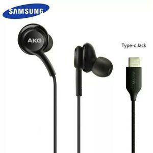Genuine AKG Earphones USB Type C Samsung Note 20 Ultra 10 Plus S20 20+ S21 20 FE