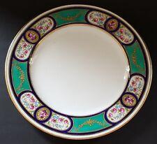 Copeland Spode green rim vintage Victorian antique serving plate platter