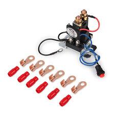 12V 200 AMP Dual Battery Isolator Auto Increase Battery Smart Starter Emergency